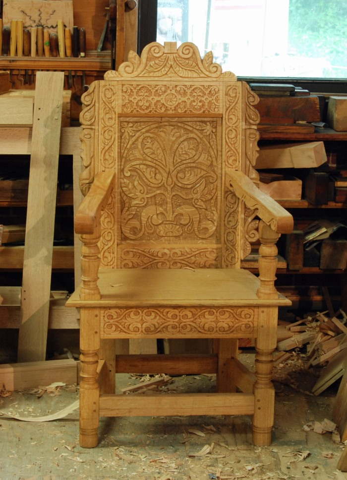 my version of a Thomas Dennis wainscot chair