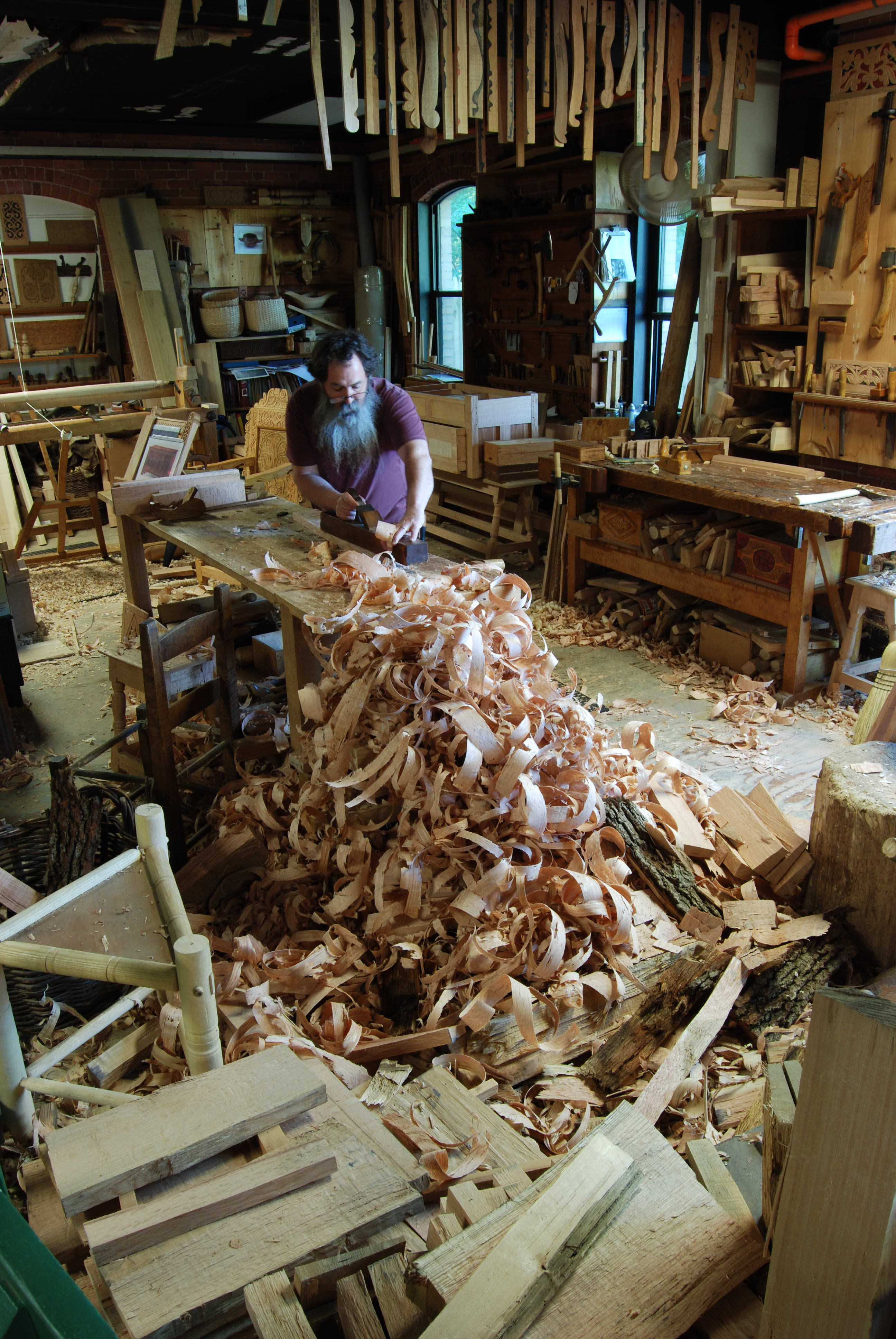 Wood Wood Autumn Winter 2014 2015 Latest Fashion Trends 2019: Peter Follansbee, Joiner's Notes