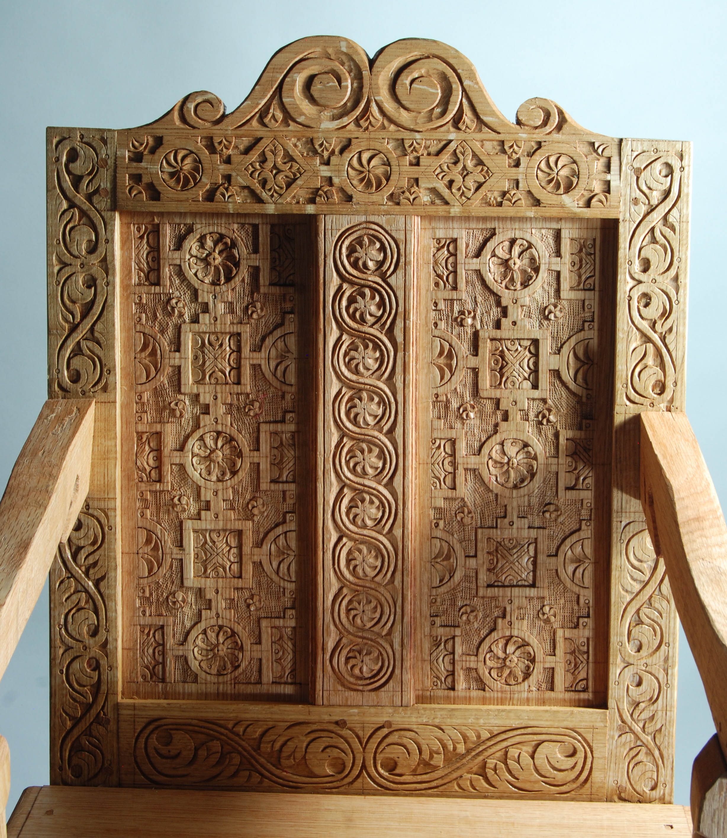 Wood carving designs furniture - Pf Design Overall Rear
