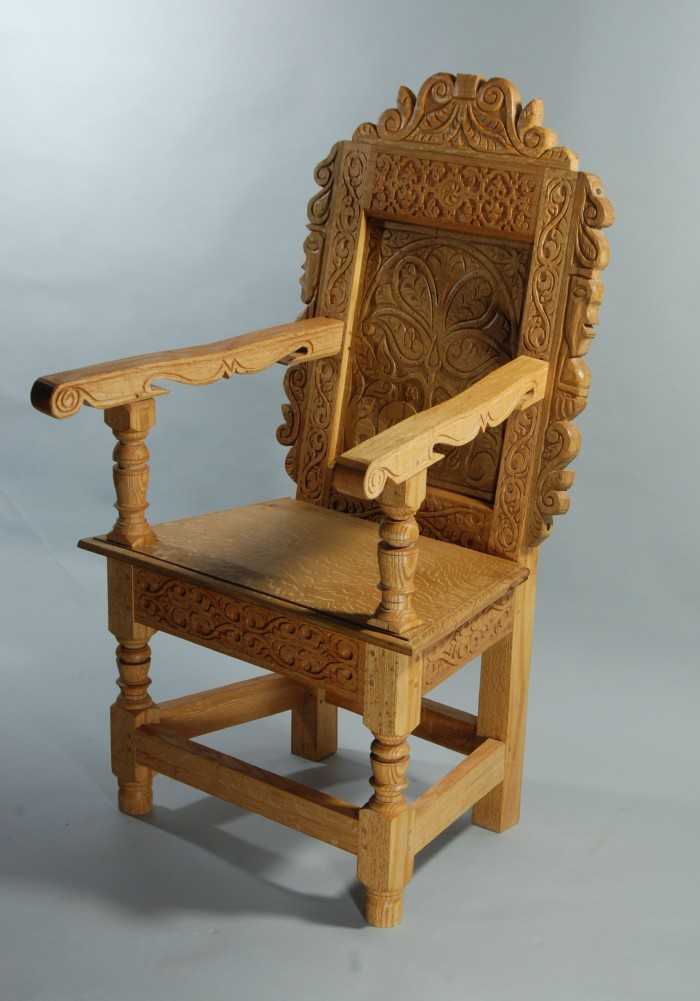 TD chair three quarters