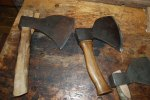 French sabot axes