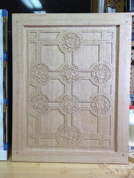geoff's panel & frame