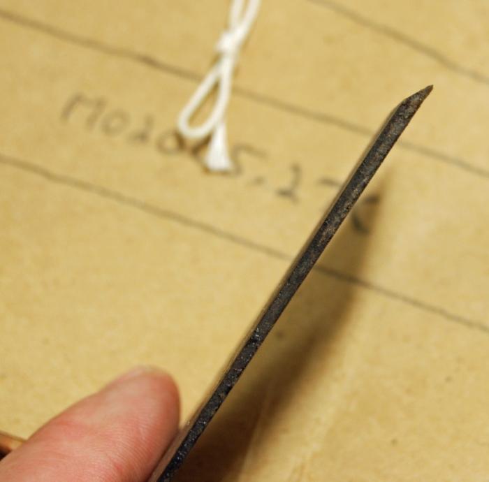 tapered iron