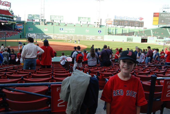 Daniel at Fenway
