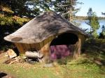 kitchen yurt