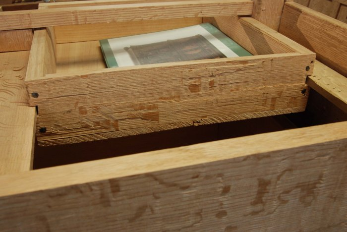 small drawer rear view