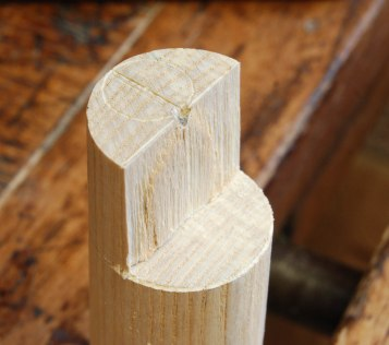 split rough out tenon