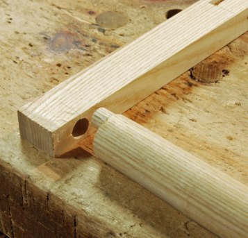 off-center tenon
