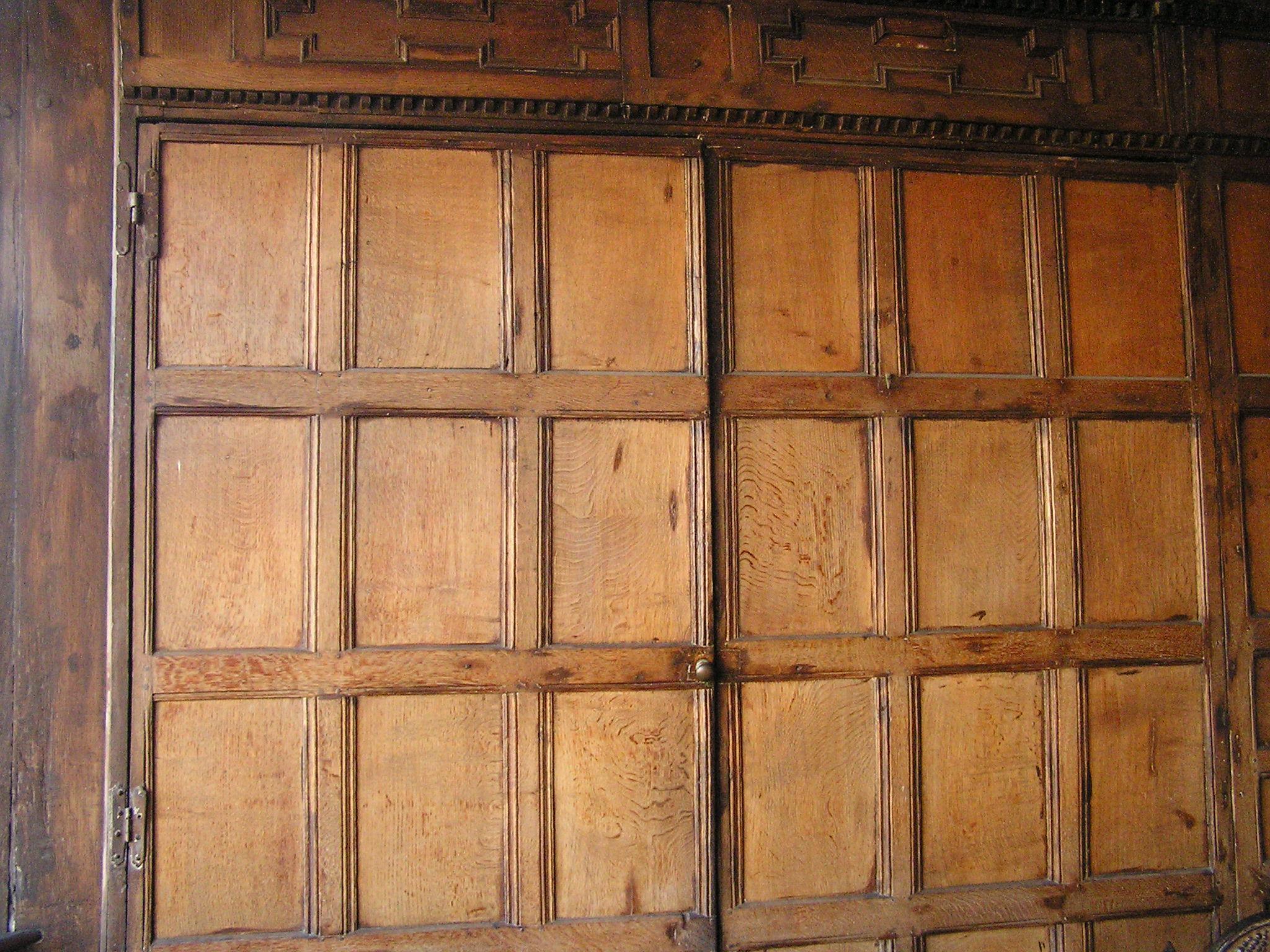 wainscot, Merchant's House, Wiltshire