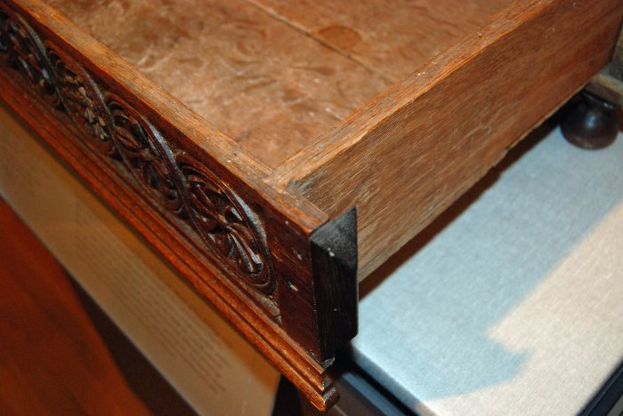drawer DT detail