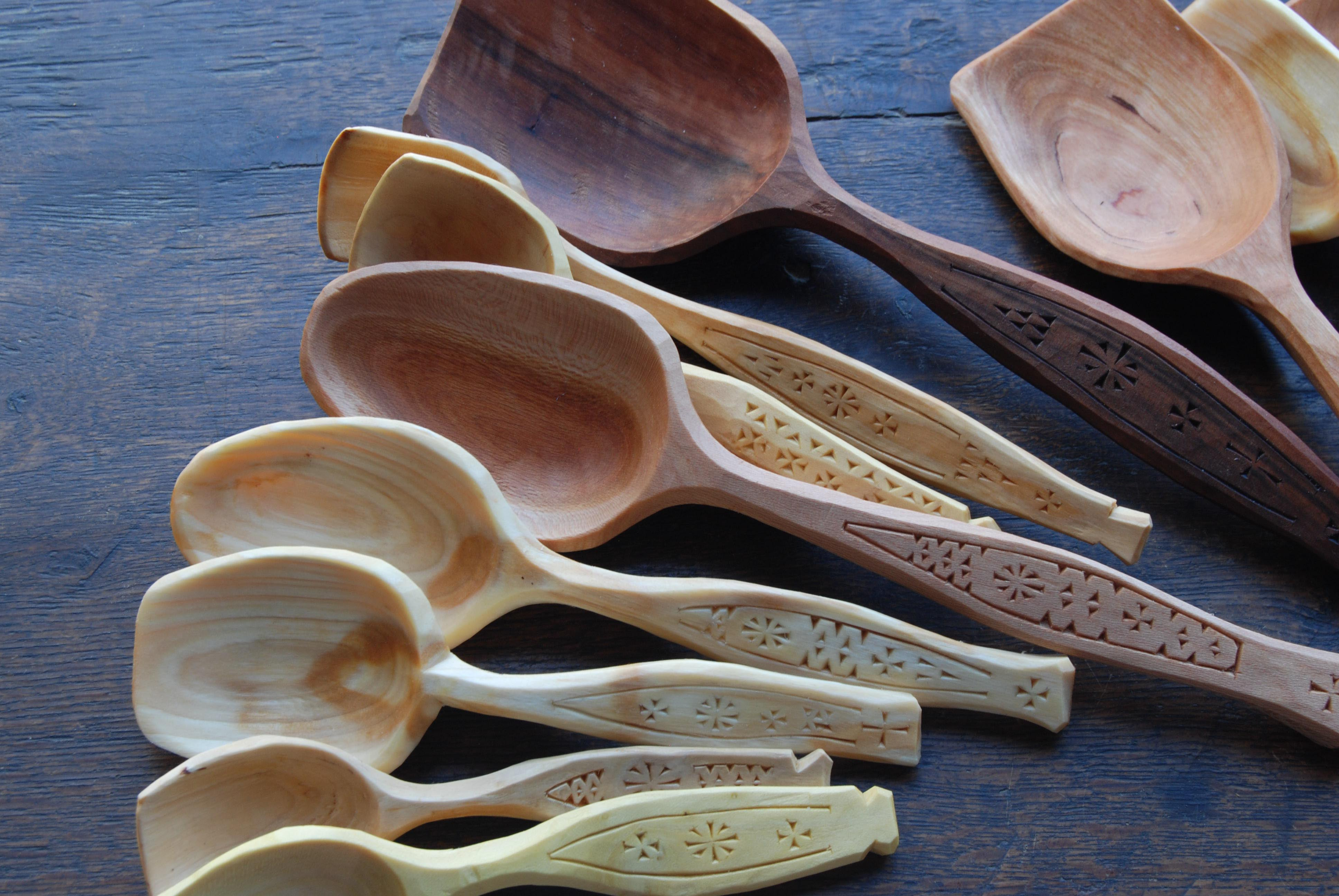 Nd half of the february spoons peter follansbee