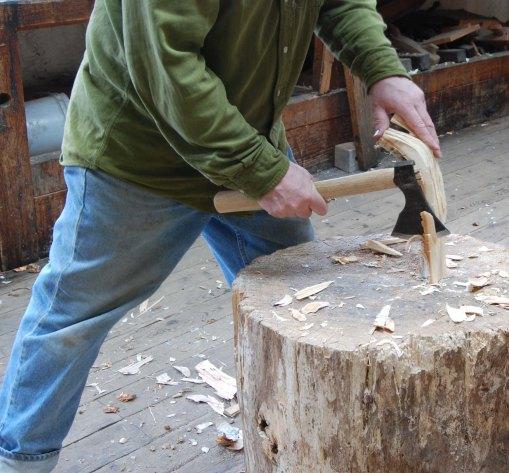 axe work