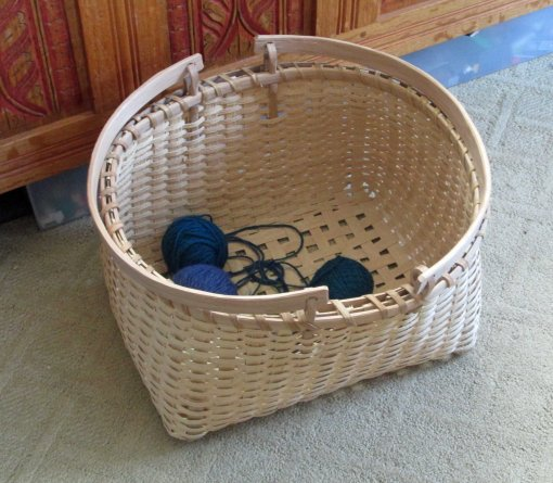 inside basket