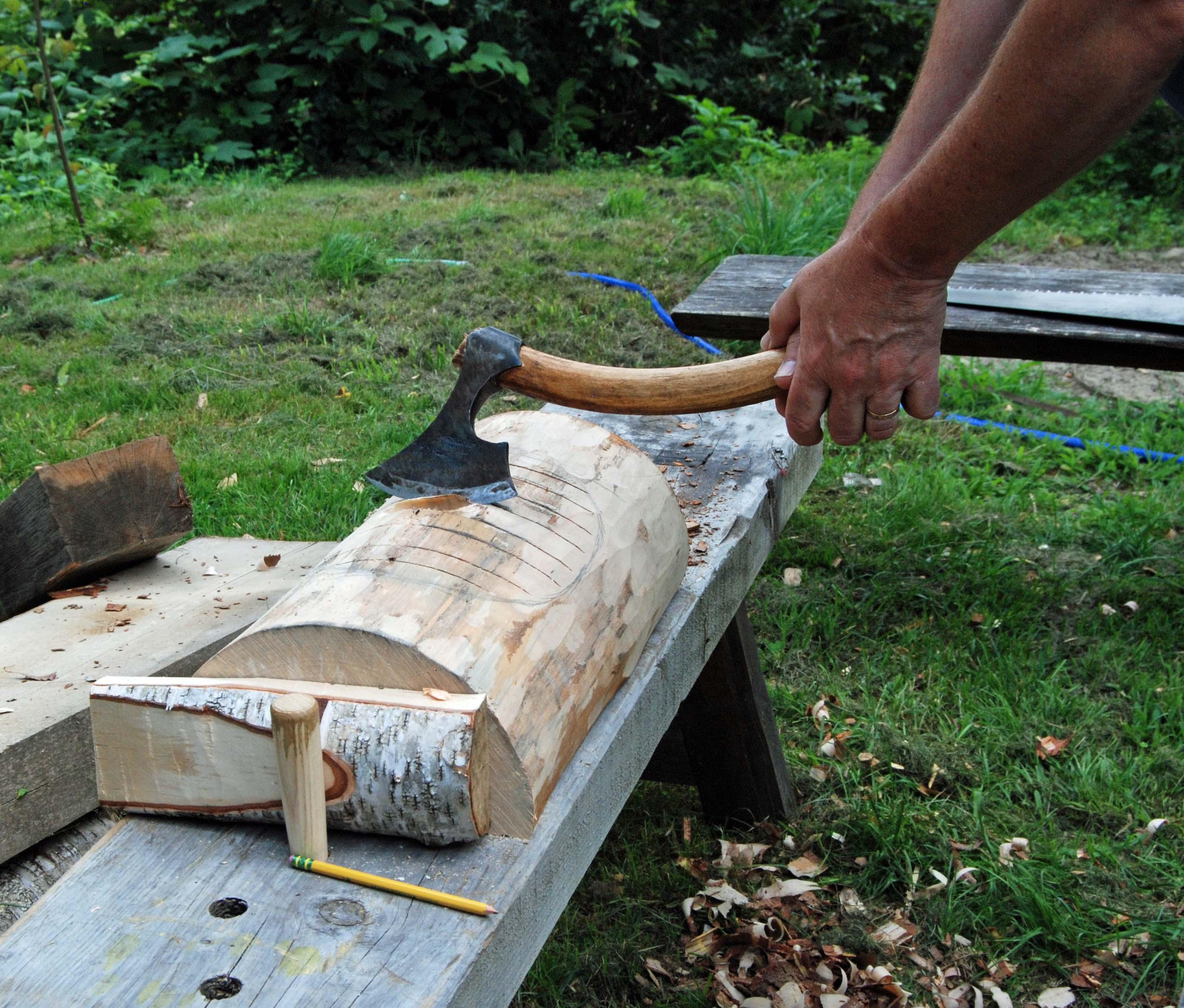 axe work inside