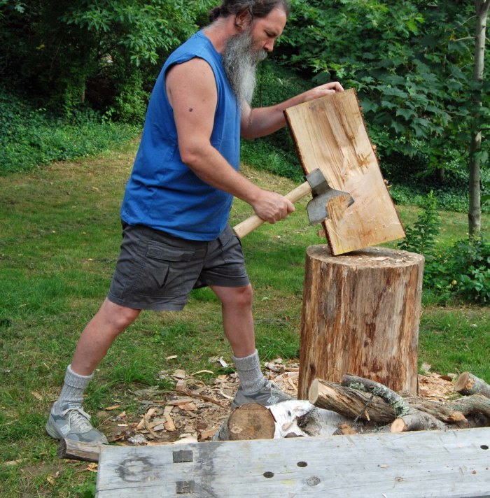 hewing the bottom