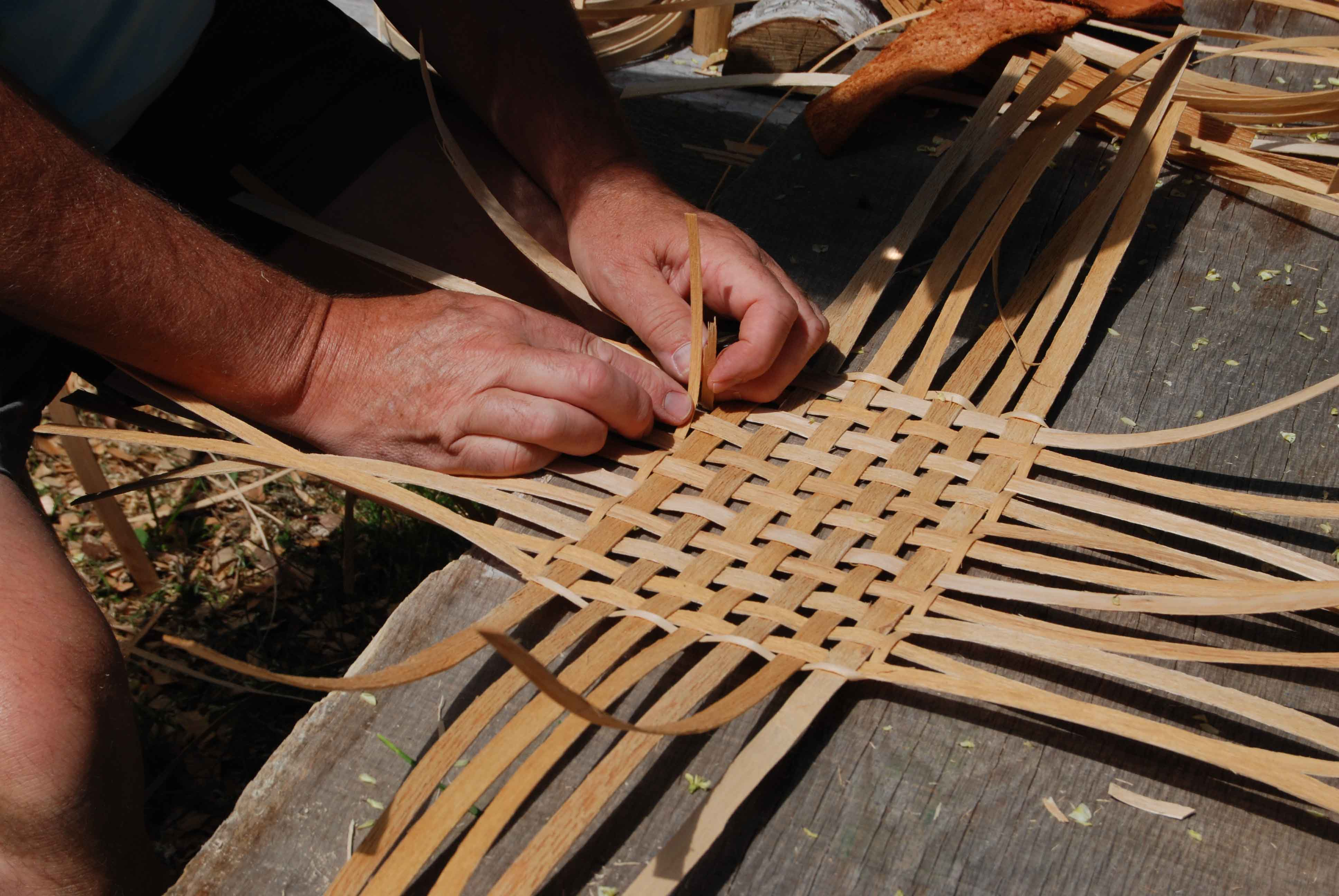 How To Weave A Hazel Basket : The stigma against feminist basket weaving
