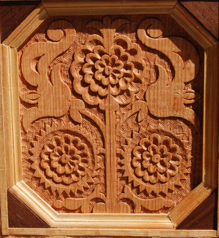 sunflower panel detail