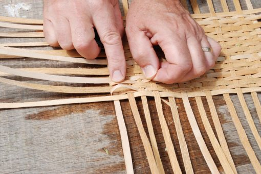 weaving fillers in