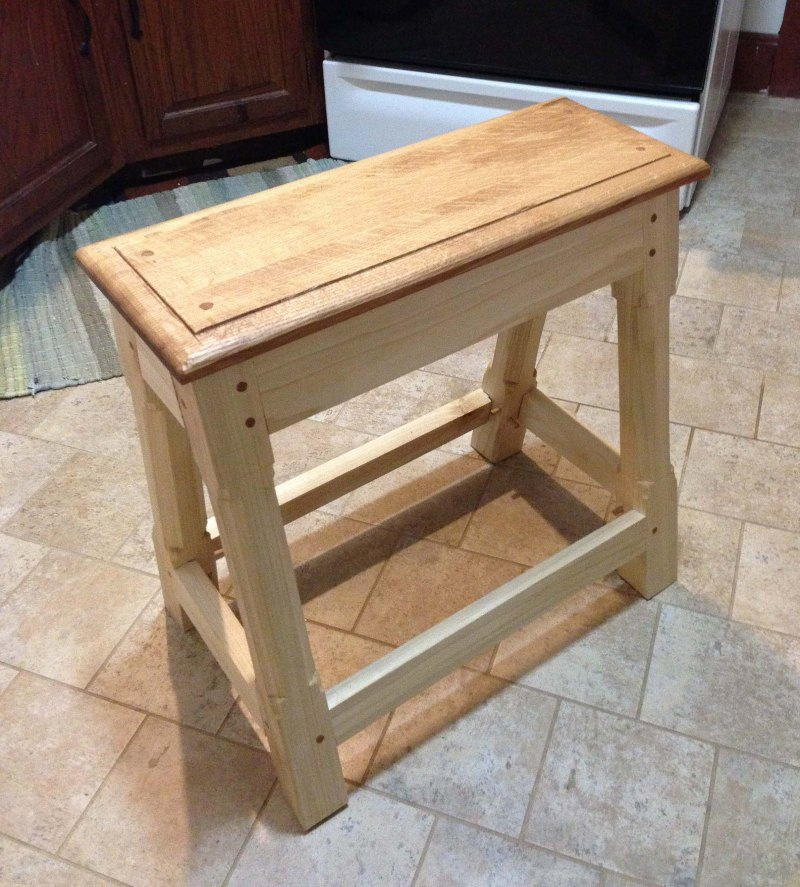 how to make wooden stools for firepit