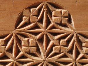 pine detail close