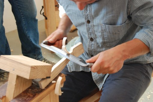 drawknife work