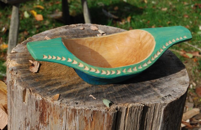 hewn bowl 14-03 overall 2