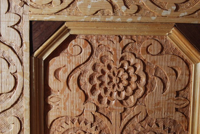 carved frame & panel CT detail 2
