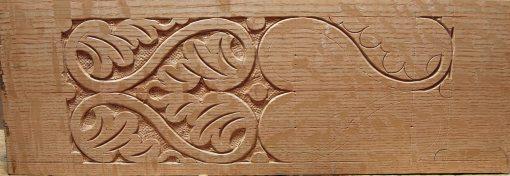 half carved