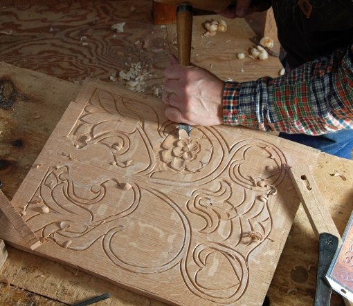 back to carving
