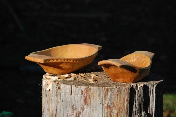 hewn bowls plural