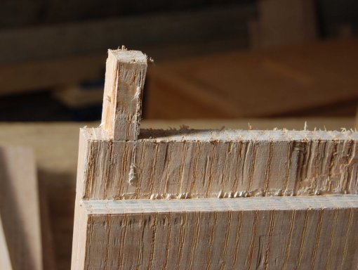 pintle roughed out