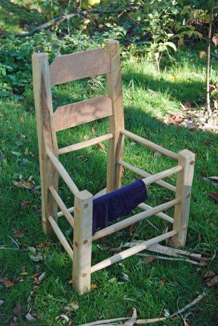 plain chair no seat yet