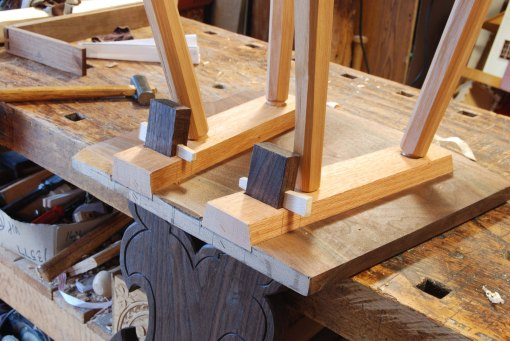 wedged bretstuhl