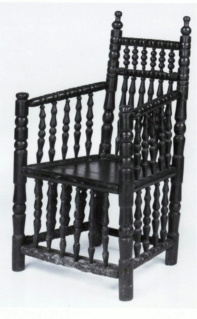 DUTCH turned chair