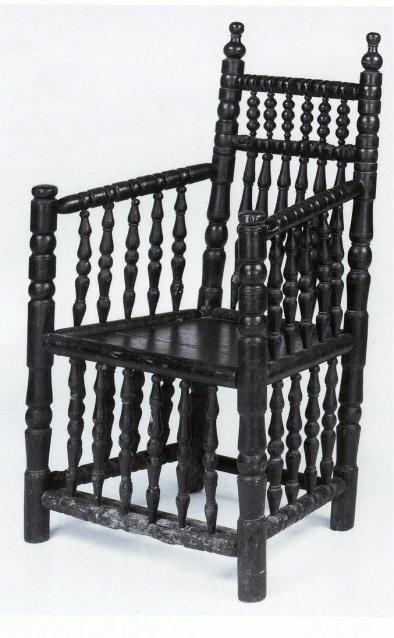 DUTCH turned chair