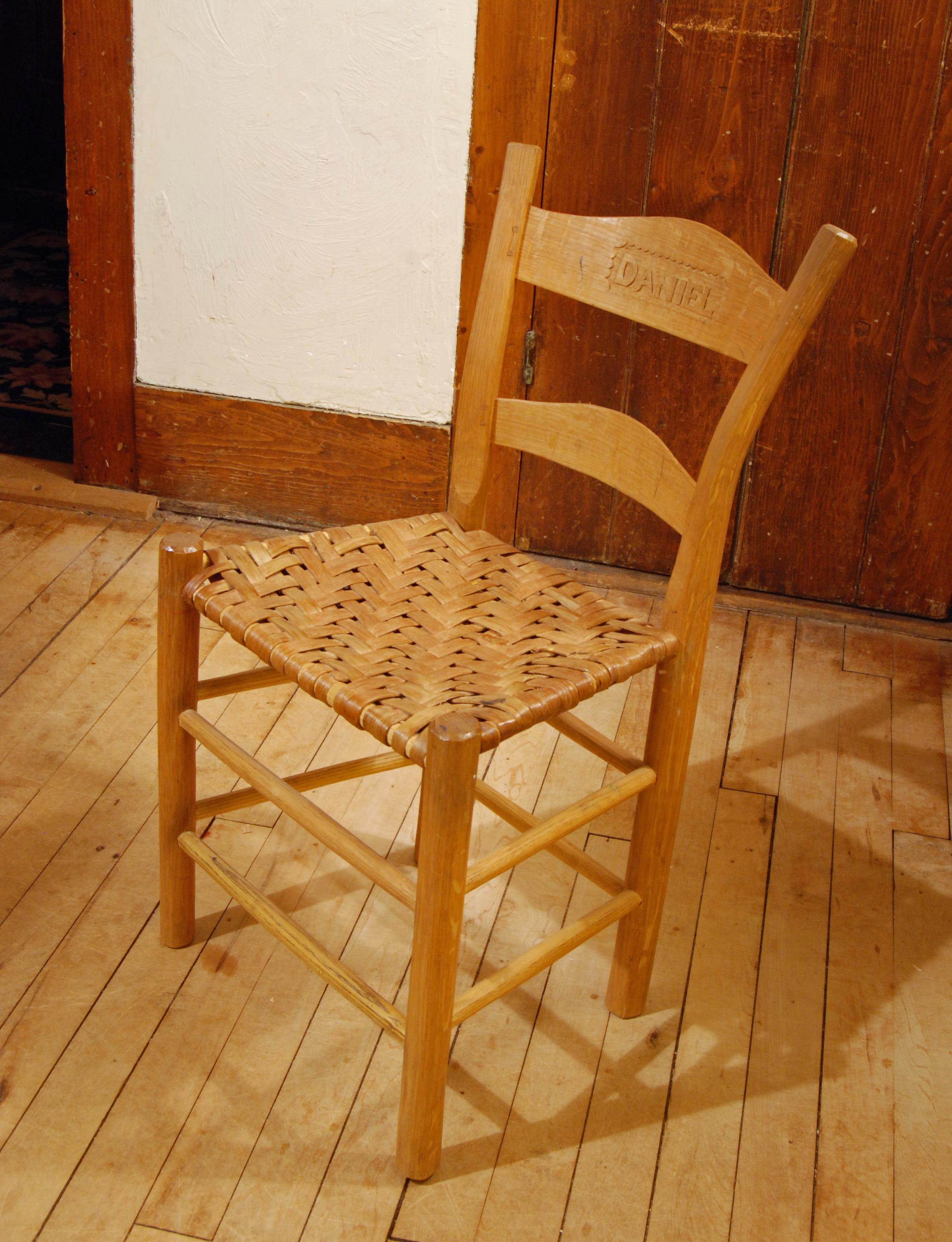 Made Ladderbacks, Rockers, Windsors U2013 Then Got Into The 17th Century U0026 Made  Wainscot Chairs, 3 Legged U0026 4 Legged. Turned Chairs Ditto. Leather Chairs.
