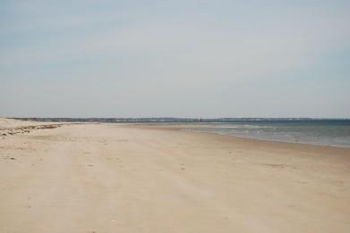 first beach trip