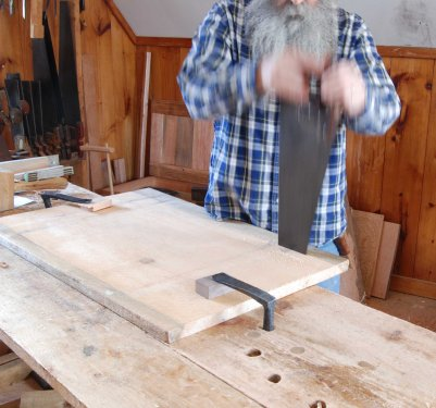 2 handed sawing