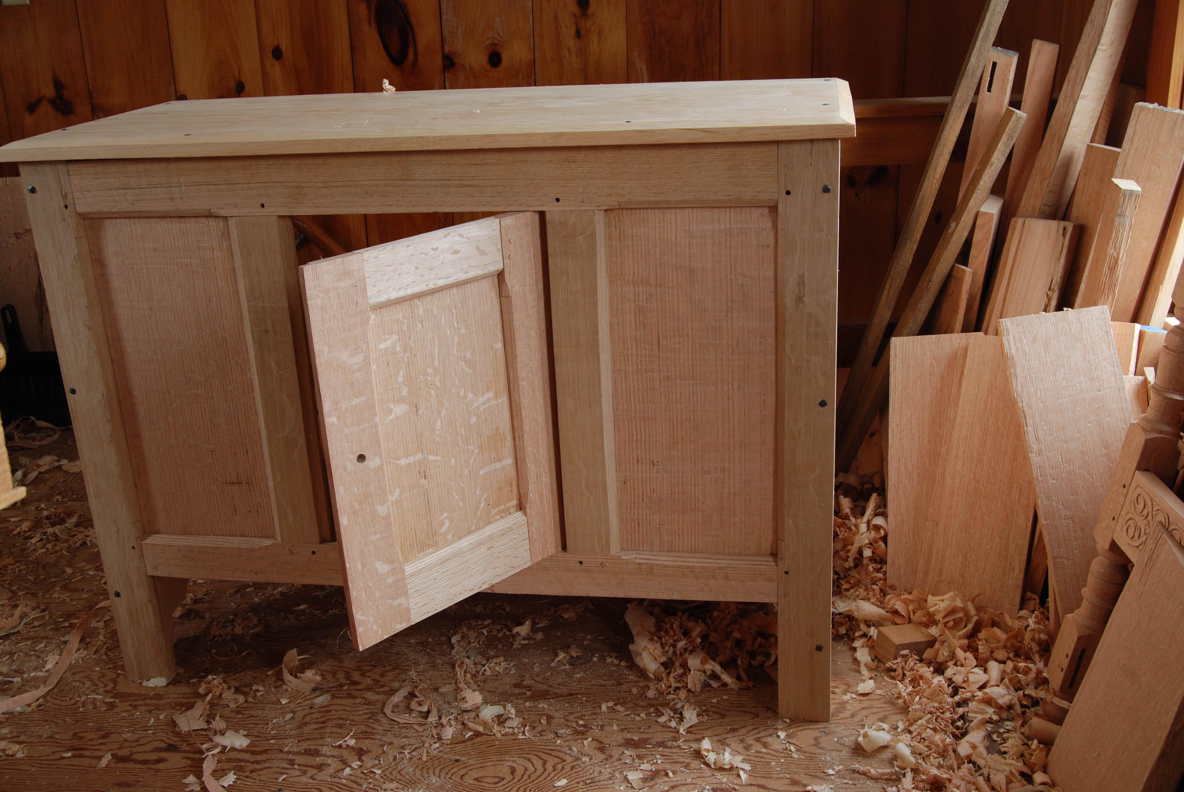 open & fitting the cupboard door | Peter Follansbee joineru0027s notes