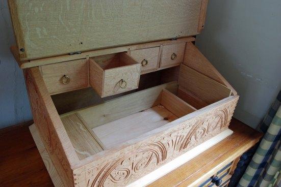 2 tills 4 drawers