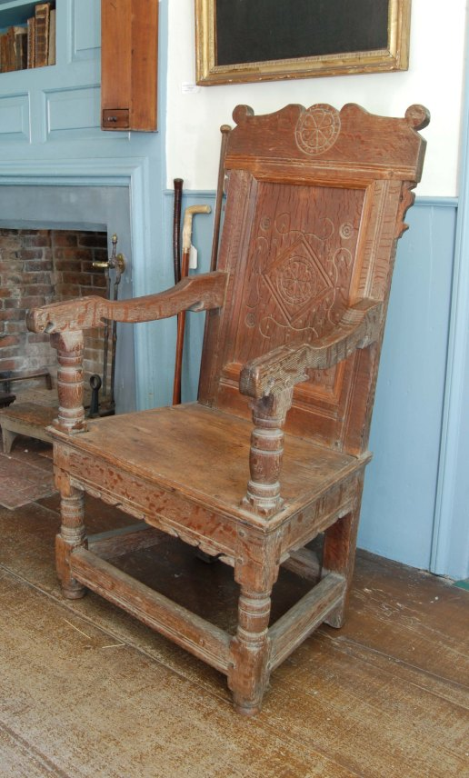 full view of chair