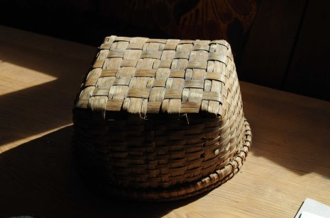 white oak basket bottom