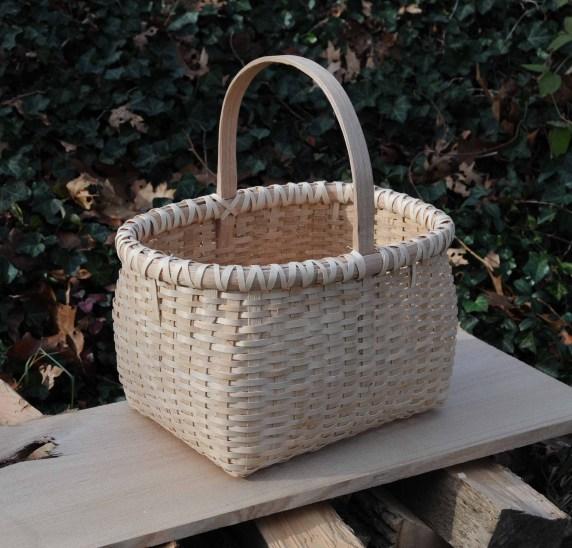 rect basket ash lashing side