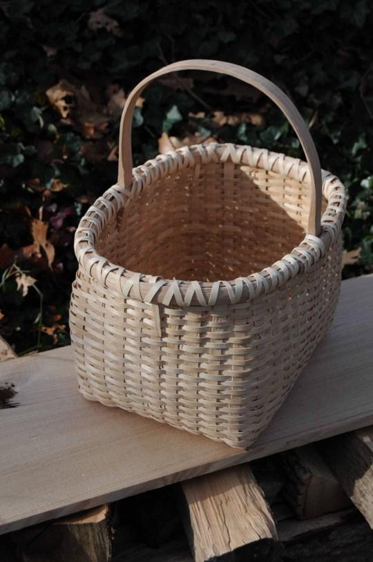rect basket ash lashing