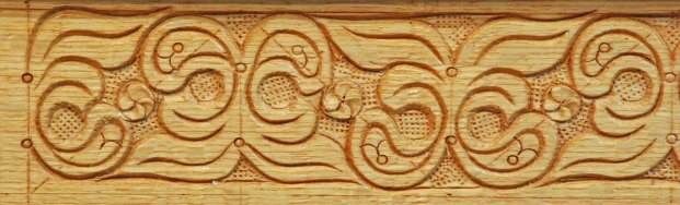 carved in oak