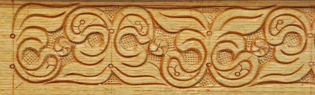 carved in oak