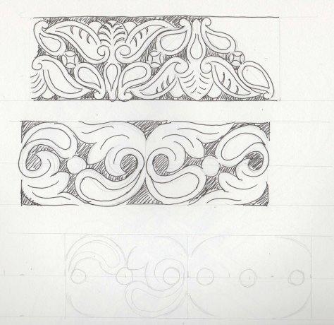 carving sketch
