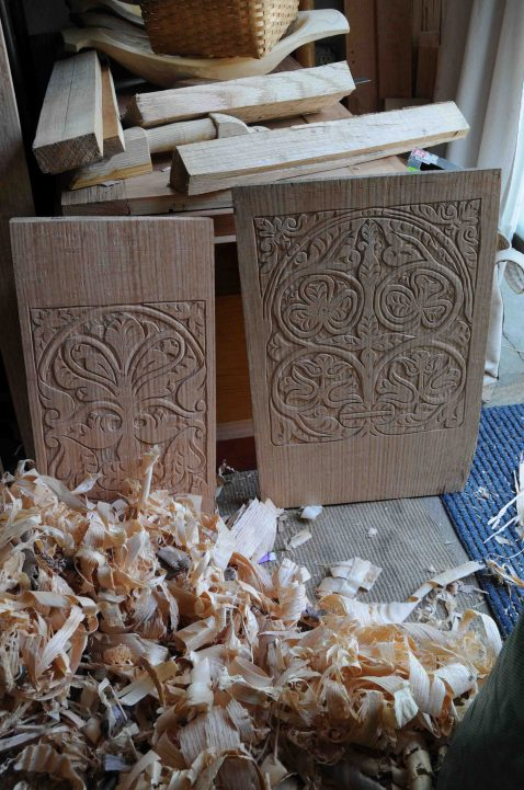 carved chest prep