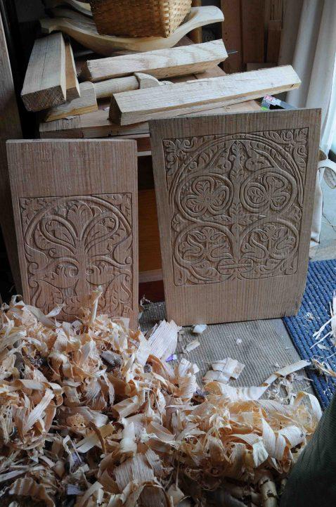 carved chest prep