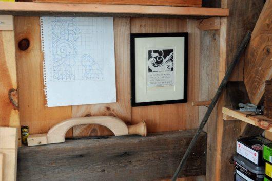 under-a-shelf
